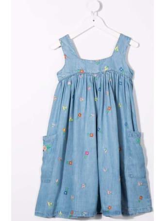 Stella McCartney Kids Floral Lyocell Dress