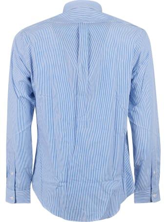 Ralph Lauren Stripe Embroidered Shirt