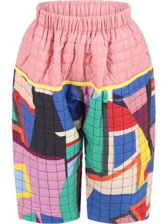 Tia Cibani Multicolor Short For Girl