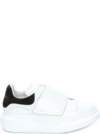 Alexander McQueen White Calfskin Sneaker