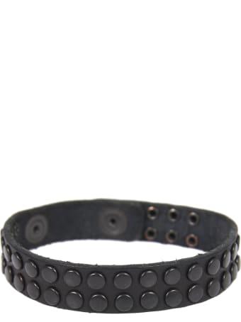 HTC Black Bracelet With Studs