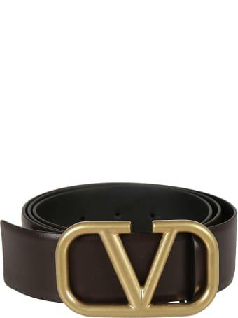 Valentino Garavani Logo Buckle Belt
