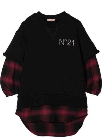 N.21 Nº21 Kids Girl Checked Dress
