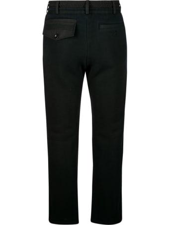 Sacai Drawstring Waist Cropped Trousers
