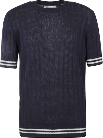 Brunello Cucinelli Stripe Detail Knitted Top