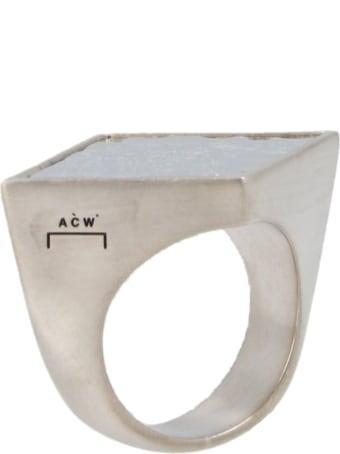 A-COLD-WALL 'artisan' Ring