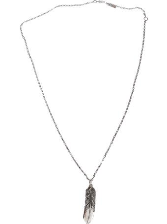 AMBUSH Silver-tone Steel Necklace