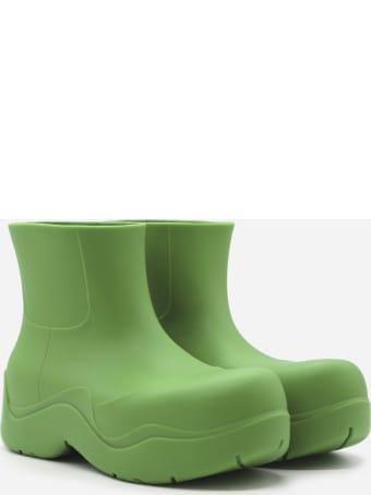 Bottega Veneta Puddle Booties In Biodegradable Rubber