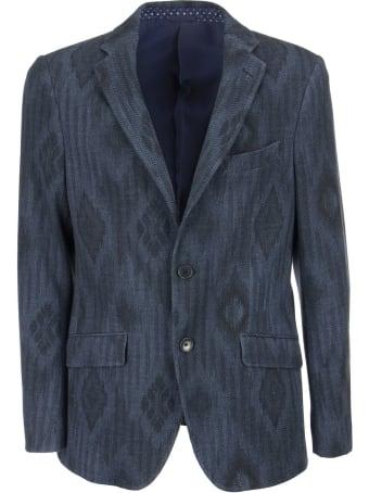 Etro Geometric Pattern Jersey Jacket