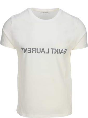 Saint Laurent Reverse Logo T-shirt