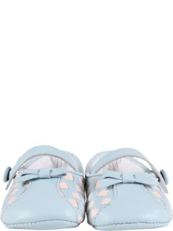 Gallucci Multicolor Ballerina Flats For Babygirl