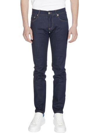 Dolce & Gabbana Logo Skinny Jeans