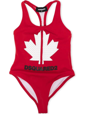 Dsquared2 Red Swimsuit
