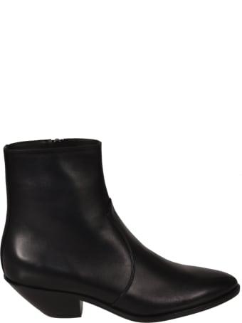Saint Laurent West 45 Zip Boots
