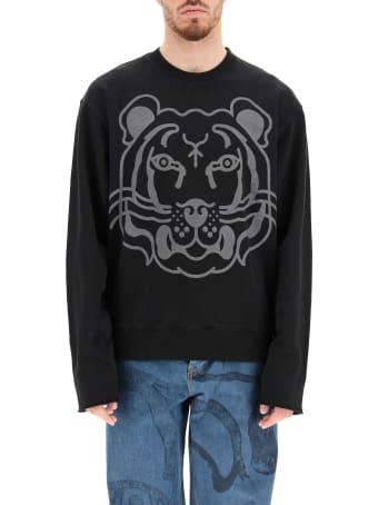 Kenzo K-tiger Print Crewneck Sweatshirt
