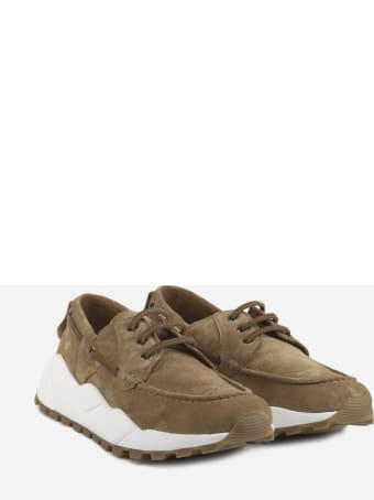 Voile Blanche Sailor Sneakers In Suede