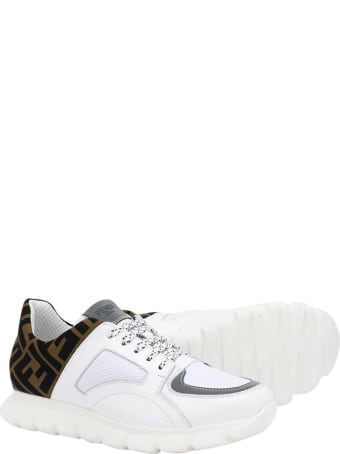 Fendi White Sneakers