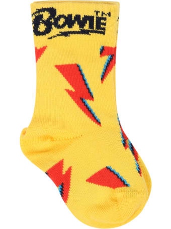 Happy Socks Set Multicolor For Babykids With Thunders