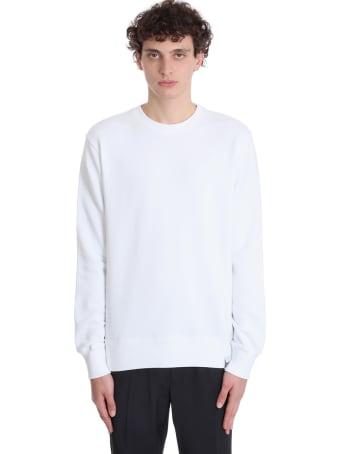 Golden Goose Archibald Sweatshirt In White Cotton