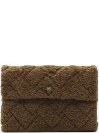 Kurt Geiger Kensington Soft Xxl Shoulder Bag In Faux Fur