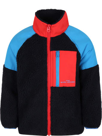 Little Marc Jacobs Multicolor Jacket For Kids With Logo