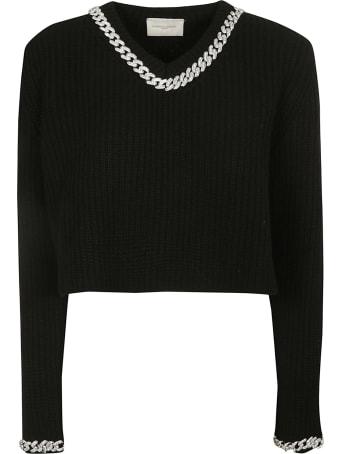 Giuseppe di Morabito Cropped Length Sweater