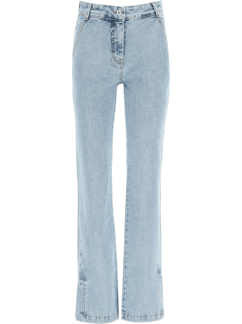 Low Classic Jeans Light Wash With High Waist