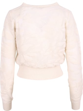 High Nylon V-neck Sweater