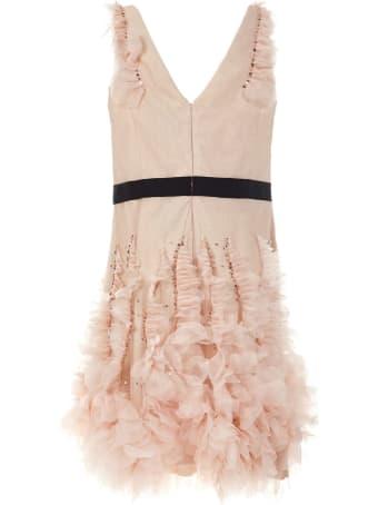 Marchesa Notte Short Dress