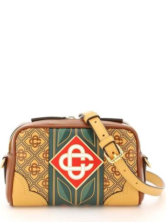 Casablanca Diamond Monogram Crossbody Bag