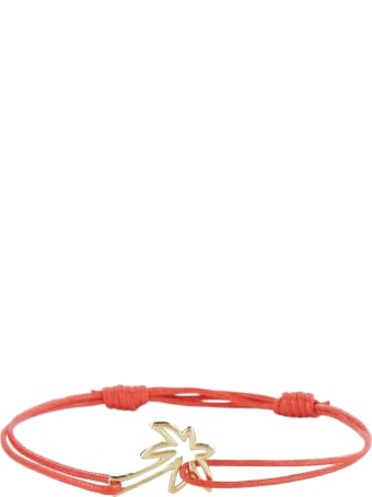 Aliita Palmera Charm Cord Bracelet