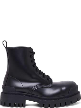 Balenciaga Strike Combat Boots