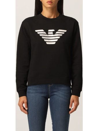 Emporio Armani Sweatshirt Emporio Armani Sweatshirt With Big Eagle Logo