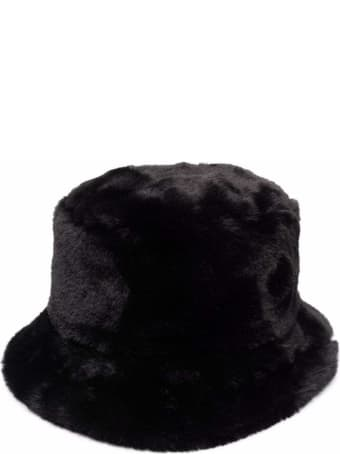 RED Valentino Faux Fur Bucket Hat
