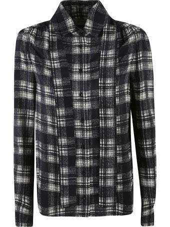Saint Laurent Check Detail Shirt