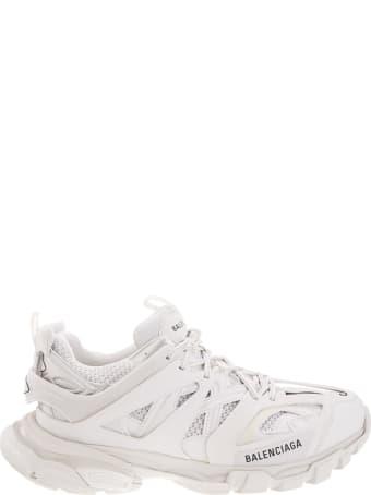 Balenciaga Man White Track Sneakers