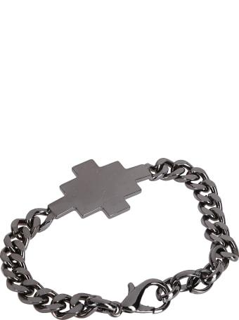 Marcelo Burlon Black Steel Bracelet