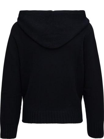 Fabiana Filippi Black Wool Hoodie