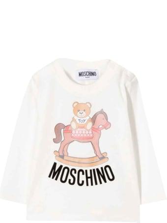 Moschino White T-shirt