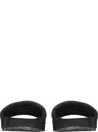 HERON PRESTON Slide Sandals With Logo Label