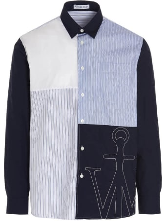 J.W. Anderson 'relaxed Patchwork' Shirt