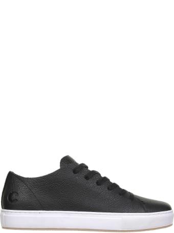 Crime london Sneaker In Black Leather