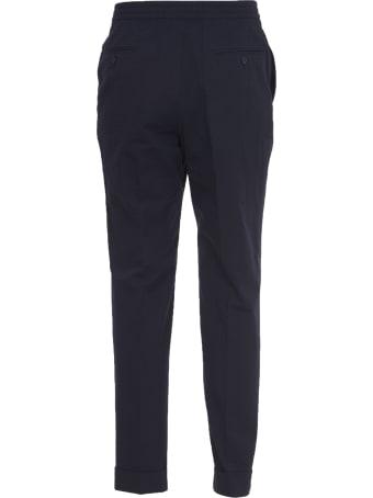 Officine Générale Blue Cotton Trousers