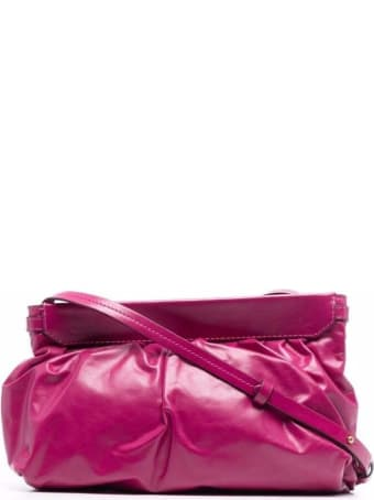Isabel Marant Étoile Luzes Crossbody Bag In Pink Leather
