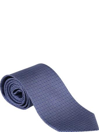Salvatore Ferragamo Logo Motif Neck Tie