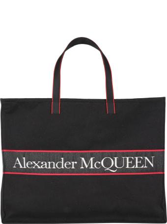 Alexander McQueen Est West Selvedge Tote Bag