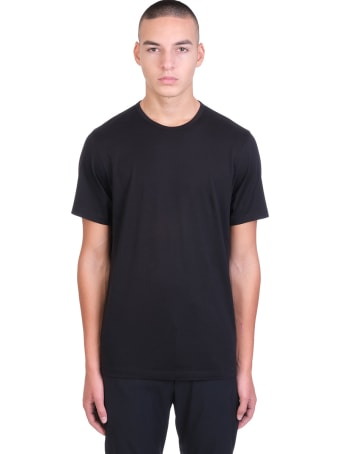 Theory T-shirt In Black Cotton