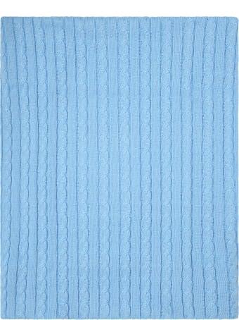 Little Bear Light Blue Blanket For Baby Boy