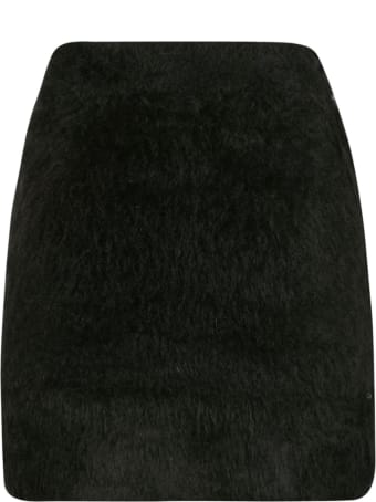 GCDS Furred Skirt