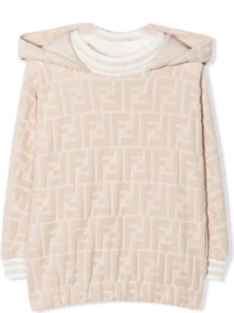 Fendi Newborn Sweatshirt With Ff Logo